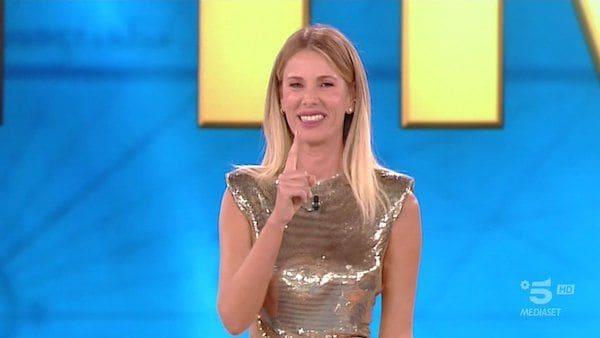 Alessia Marcuzzi, confessioni su Riccardo Fogli e Simona Ventura a Verissimo