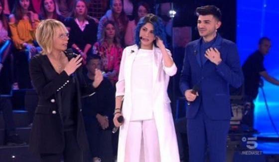 Ludovica Caniglia, Maria De Filippi e Jefeo