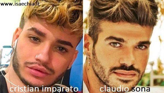 Somiglianza tra Cristian Imparato e Claudio Sona