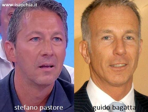 Somiglianza tra Stefano Pastore e Guido Bagatta