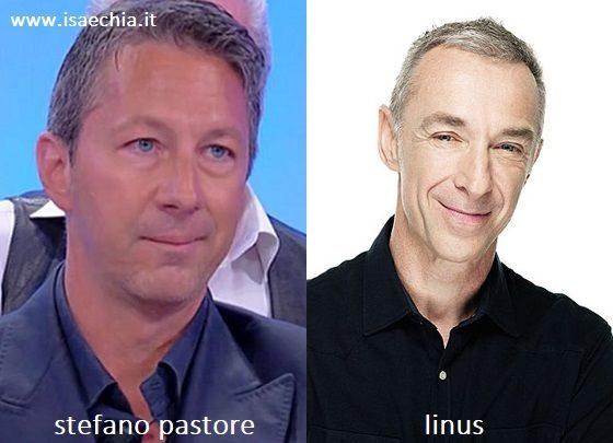 Somiglianza tra Stefano Pastore e Linus