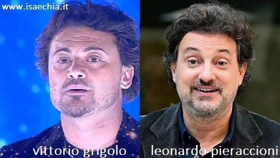 Somiglianza tra Vittorio Grigolo e Leonardo Pieraccioni