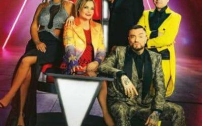 The Voice of Italy - Simona Ventura, Elettra Lamborghini, Gigi d'Alessio, Morgan, Guè Pequeno