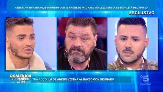 Domenica Live - Cristian Imparato, Franco Terlizzi e Edoardo Ercole