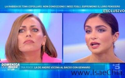 Domenica Live - Karina Cascella, Ambra Lombardo