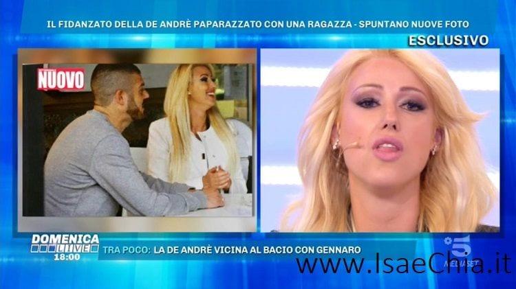 Claudia Dionigi contro Francesca De André e Giorgio Tambellini