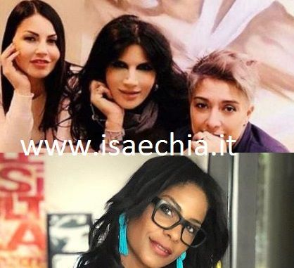 Eliana Michelazzo, Pamela Prati, Pamela Perricciolo - Georgette Polizzi