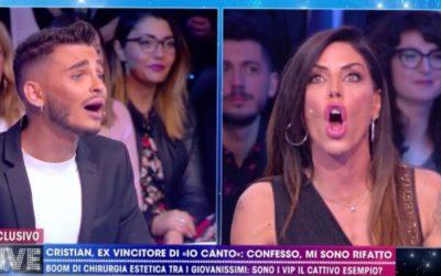 Live Non è la D'Urso - Cristian Imparato e Guendalina Tavassi