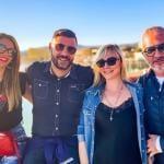 Pamela Barretta, Stefano Torrese, Caterina Corradino e Biagio Buonuomo