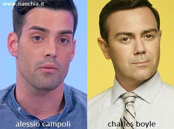 Somiglianza tra Alessio Campoli e Charles Boyle di 'Brooklyn 99'