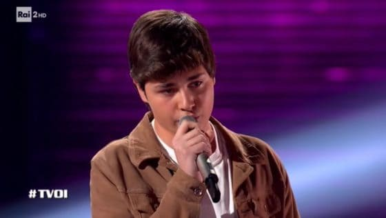 The voice of italy - Andrea Settembre