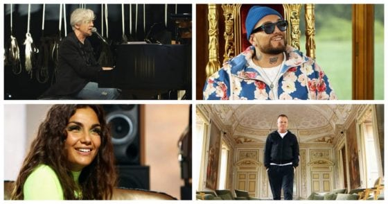 The voice of italy - Gue Pequeno + Elettra Lamborghini + Gigi D'Alessio + Morgan