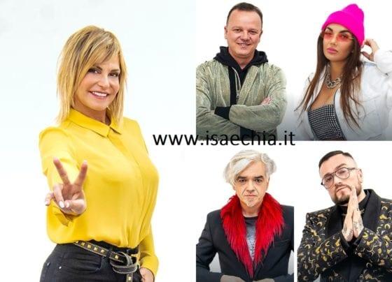 The voice of italy - Simona Ventura + Gue Pequeno + Gigi D'Alessio + Elettra Lamborghini + Morgan
