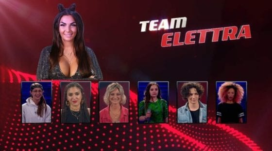 The voice of italy - Team Elettra