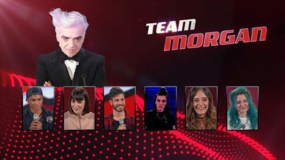 The voice of italy - Team Morgan
