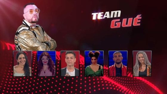 The voice of italy - Team Gue
