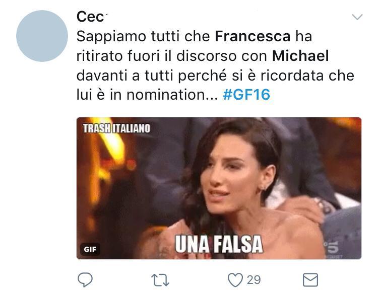 News Gf, critiche per Gaetano: