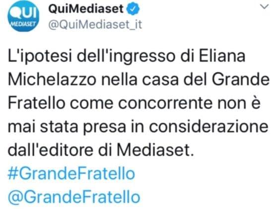 Twitter - Mediaset