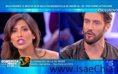 Domenica Live - Mila Suarez, Alex Belli