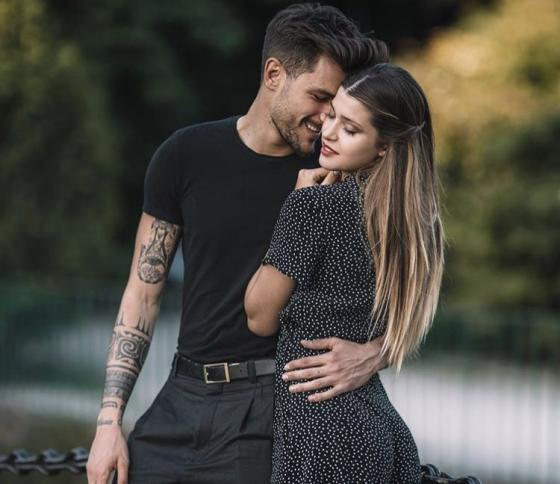 Andrea Zelletta e Natalia Paragoni
