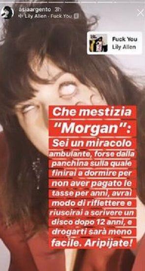 Instagram Story Argento