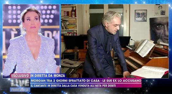 Live Non è La D'Urso - Barbara D'Urso, Morgan