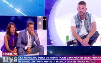 Live non è la D'Urso - Francesca De Andrè, Gennaro Lilio e Giorgio Tambellini