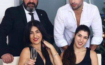 Michael Terlizzi e la sua famiglia