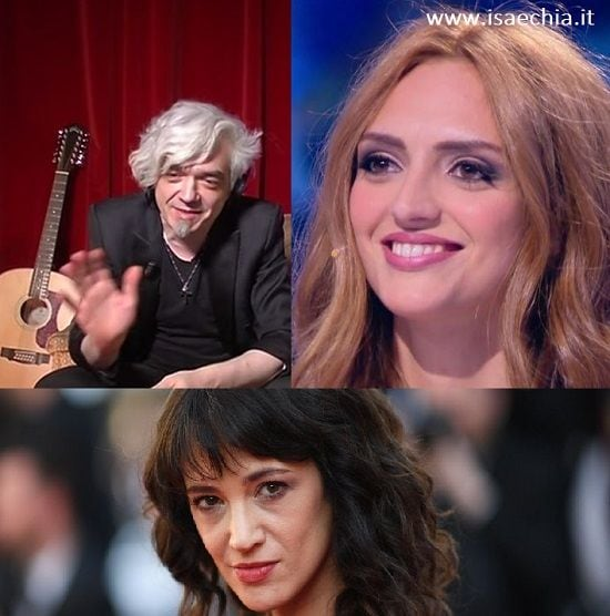 Morgan, Jessica Mazzoli, Asia Argento