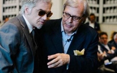 Morgan e Vittorio Sgarbi
