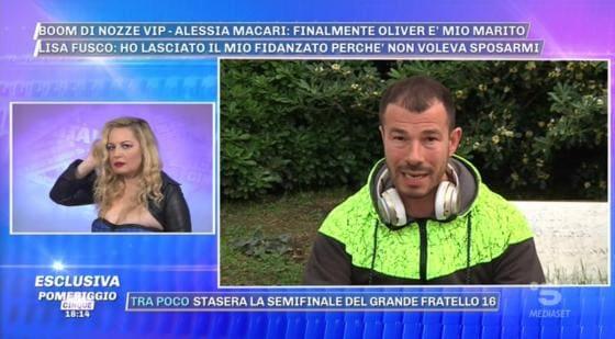Pomeriggio 5 - Lisa Fusco, Marcello