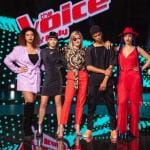 The Voice of italy - Simona, Brenda, Diablo, Miriam e Carmen