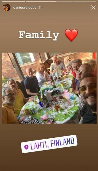 Instagram Story Osvaldo