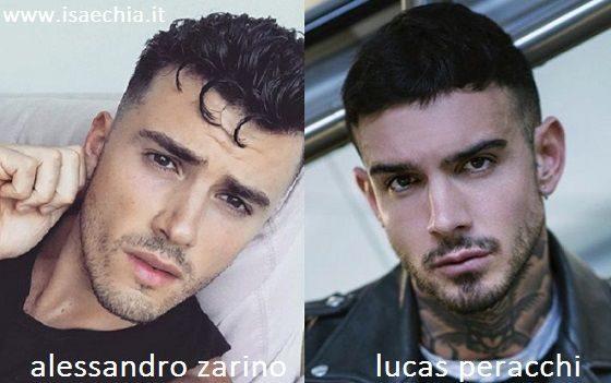 Somiglianza tra Alessandro Zarino e Lucas Peracchi