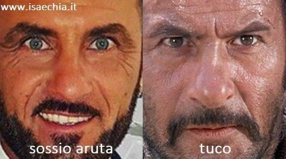 Somiglianza tra Sossio Aruta e Tuco