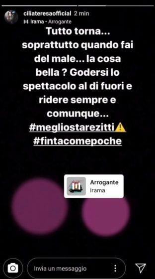 Instagram Story - Cilia