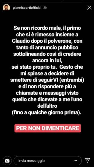 Instagram Story - Sperti
