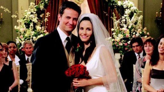 Friends - Chandler e Monica