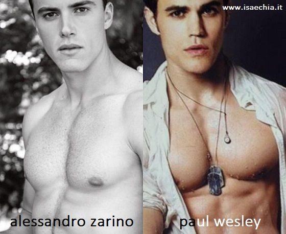Somiglianza tra Alessandro Zarino e Paul Wesley