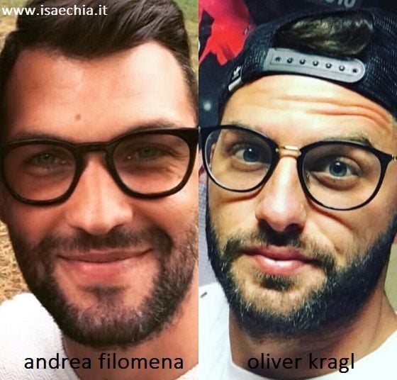 Somiglianza tra Andrea Filomena e Oliver Kragl
