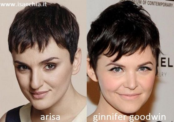 Somiglianza tra Arisa e Ginnifer Goodwin