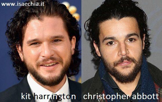 Somiglianza tra Kit Harington e Christopher Abbott