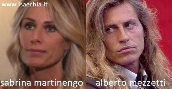 Somiglianza tra Sabrina Martinengo e Alberto Mezzetti