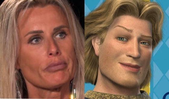 Somiglianza tra Sabrina Martinengo e Azzurro