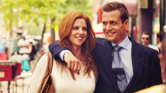 Suits - Harvey e Donna