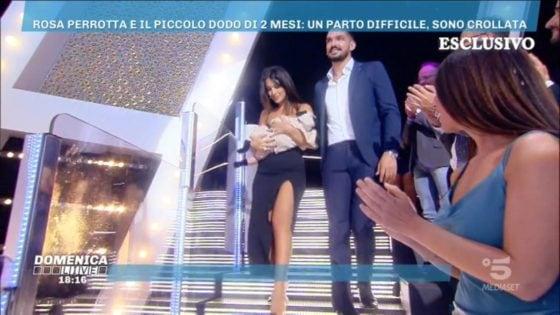 Domenica Live - Rosa Perrotta e Pietro Tartaglione