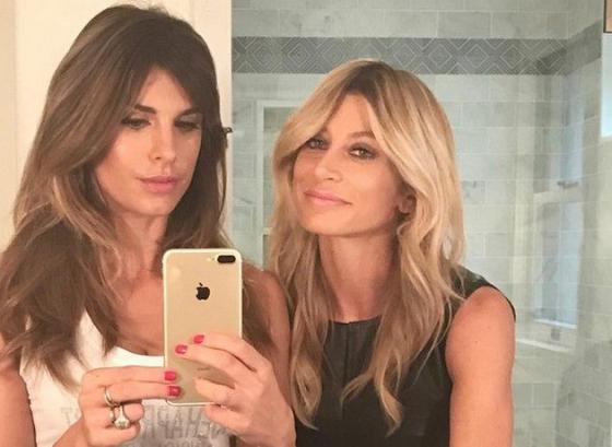 Elisabetta Canalis e Maddalena Corvaglia