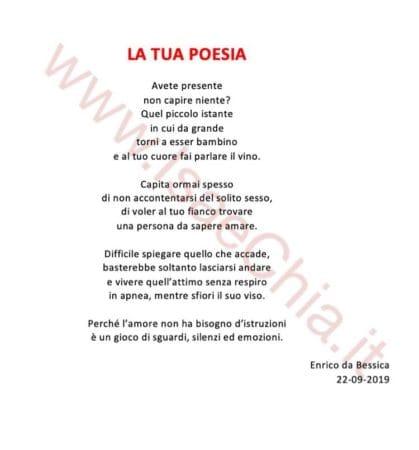 Enrico - Poesia