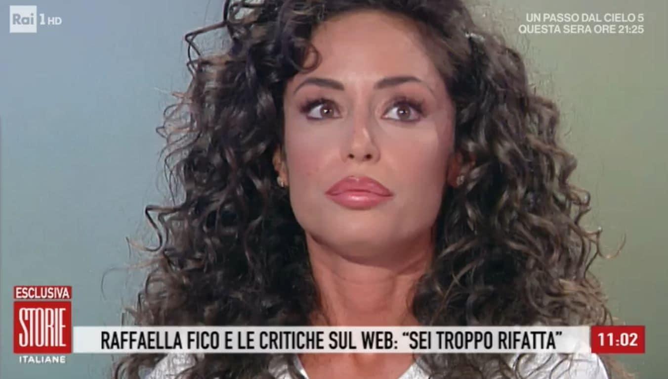 Raffaella Fico si sfoga a Storie Italiane: