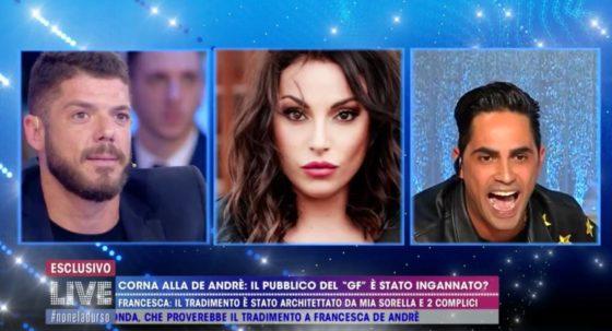 Live - Non è la D'Urso - Biagio D'Anelli, Giorgio Tambellini, Francesca De Andrè